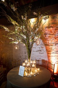 like the lights hanging of the branches, though could be a bit more lush in terms of flowers
