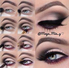 Pretty makeup tutorial ♥