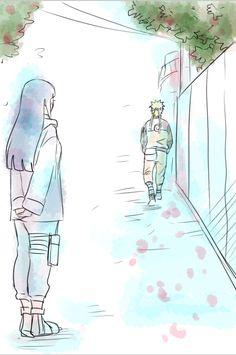 I'm glad she finally stopped watching and stood by him ❤️ NaruHina #naruto
