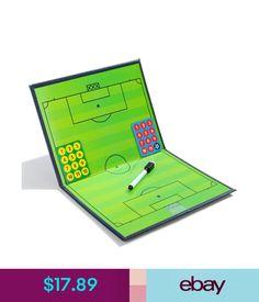 Training Aids Portable Magnetic Football Coaching Tactics Board Soccer Training Board Folder #ebay #Lifestyle