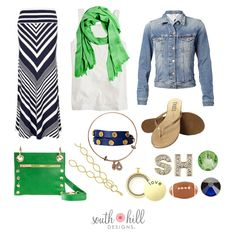 Getting ready for South Hill Designs, Nfl Network, Football Fans, Patriots Football, Super Bowl, Looks Great, Fashion Accessories, Casual, How To Wear
