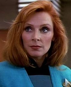 Beverly Crusher - Keeping the crew of the Enterprise healthy and... well... alive.