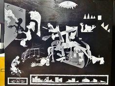 B&H GUERN'HIPHOP / TURN TABLE TABLE #graffiti #urbanart #streetart #painting #guernica #simbolo