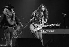 ATLANTA, GA - July 10: Singer Ronnie Van Zant and guitarist Gary... News Photo | Getty Images