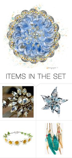 """mandala"" by daizyjayne ❤ liked on Polyvore featuring art and contestentry"