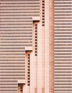 """""""The tallest building in Fort Worth, Texas, this simple brutalist architectural design is a unique addition to the vibrant and growing downtown landscape, with a strong, repetitive pattern of windows being interrupted by meticulous, powerful vertical lines."""" Courtesy of: Nikola Olic"""