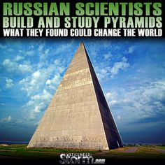 The following is a compilation of articles discussing the research or pyramids by Russian Scientists and related works of other researchers there after. Ever since I heard David Wilcock mention the Russian pyramid studies I was fascinated by this shape and how it seemed to affect reality. It is probably one of the most well recognized elements of megalithic structures, yet how these sites were constructed and what they were originally used for remains a mystery.