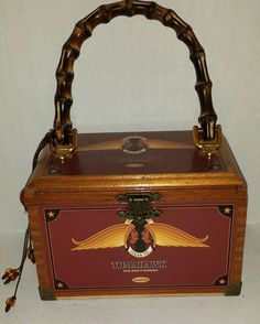 c4b1c86ffbc2 Tomahawk Indian Tabac Cigar Co. Cigar Box Purse  TomahawkIndianTabac   CigarBoxPurse Cigar Box Purse