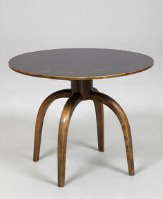 Axel Einar Hjorth; Birch Table for Nordiska Kompaniet, 1937.