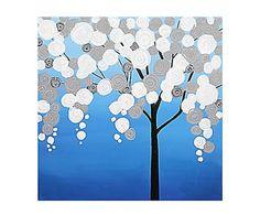 Óleo sobre lienzo Alycia - 80x80 cm