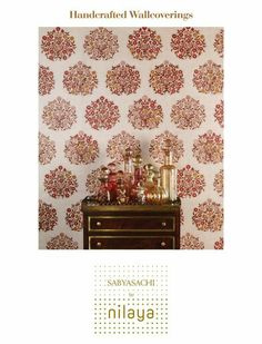 Sabyasachi for Nilaya /Asian Paints/Handcrafted Wallcoverings