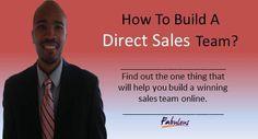 How to Build a Direct Sales Team  KelseySimonnet