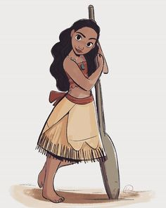 Moana was stunningly beautiful and all the artwork for that movie is just so inspiring! So here's my fan art of it~ Congrats to the team for their successful opening weekend  #moana #disney #polynesian #animation #fanart #instaart #instagood #digitalart #Photoshop