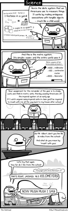What we should have learned in school by The Oatmeal - Imgur