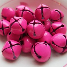 "Pinner says~~~""Pink Jingle Bells  OMG I am going to make these"""