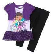 Girls (4-6x) Disney 2 Piece Doc McStuffins Top Set Price: $30.00 Now! $15.00 VISIT http://www.shopandsavedeals.net/kids-character-corner-shop.html
