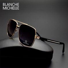 Cheap oculos fashion, Buy Quality polarized directly from China square sunglasses men Suppliers: High Quality Square Sunglasses Men Polarized Fashion Sunglass Mirror Sport sun glasses Oversized Driving Gold frame oculos Polarized Sunglasses, Sunglasses Women, Lunette Style, Mens Glasses, Eyewear, Mens Fashion, Fashion Outfits, Stylish, Mixed Martial Arts