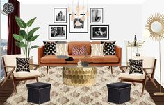 Let Havenly create your dream space through a fun and affordable online design process. All online.