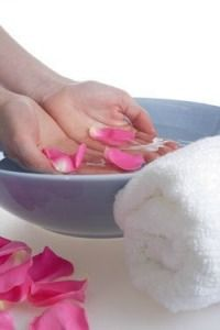 """Homemade Spa Bath Recipes- """"You can make your own homemade version of bath salts, bath milk, herbal soaks and more. This page contains homemade spa bath recipes"""""""