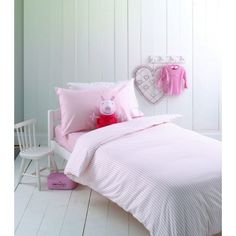 Helena Springfield Marlow Polka Dot Single Flannelette Duvet Cover in Pink in Home, Furniture & DIY, Bedding, Bed Linens & Sets