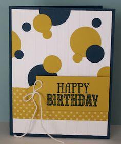 Quick n Easy Birthday Card for a Boy!