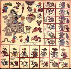 --Page 12--   Codex Borbonicus (Loubat 1899)