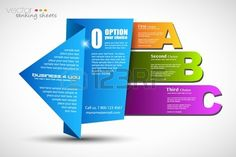 Paper style ranking elements with real origami effect to use..