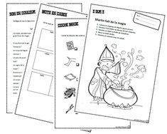 Martin fait de la magie, lire, lecture, cp, ce1, cycle 2, DA, DV, compréhension, dixmois, consigne, son in Core French, Cycle 2, French Immersion, Teaching French, Lectures, Comprehension, Teaching Resources, Homeschool, Teacher