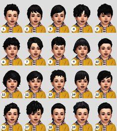 ALL MY SIMS — candycottonchu: Natural hair recolor dump ft. Sims 4 Hair Male, Sims 4 Black Hair, Sims Four, Sims 4 Mm, Toddler Hair Sims 4, Toddler Boys, Toddler Sleep, The Sims 4 Bebes, Pelo Sims