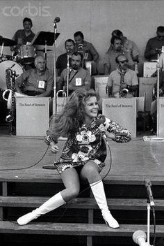 Ann Margaret entertaining the troops in Vietnam in 1968