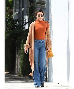 Celebrity Style | 海外セレブリティ最新スタイル情報 : 【ヴァネッサ・ハジェンズ】ハロウィーンカラーでまとめたトップスが絶妙な秋色スタイル