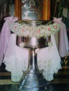 στολισμος κολυμπηθρας με γυψοφυλλο Boy Baptism, Flowers, Christening