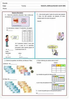 atividades com sistema de numeração decimal 5o ano - Pesquisa Google