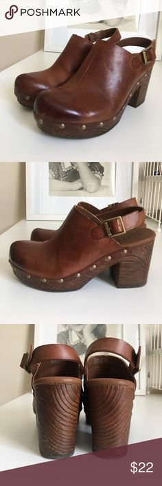 Korkease Clog Size 7 Korkease Clog Size 7. Some wear on toe and heel area, as shown in pictures. Korkease Shoes Mules & Clogs