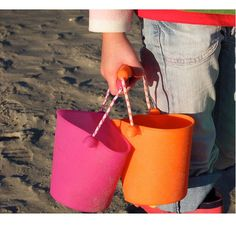 Silicon Scrunch Bucket fun kid's travel | Nipper Skipper