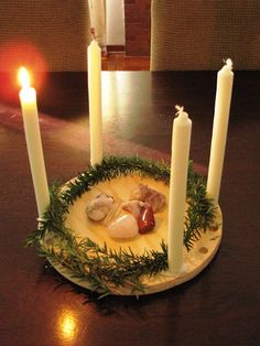 A Simple Advent Spiral and Centrepiece... - Natural Suburbia