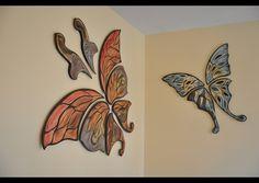 Natalie Blake Tile Artist - really cool pieces!~Ceramic Butterflies