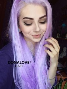 54 Crazy Pastel Hair Color Ideas For Unique Hairstyles - Beauty Tips Unique Hairstyles, Pretty Hairstyles, Synthetic Lace Wigs, Silk Hair, Hair Painting, Crazy Hair, Cool Hair Color, Love Hair, Purple Hair