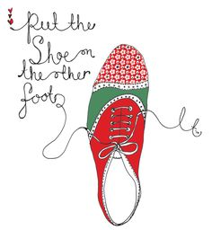 if you were in my shoes