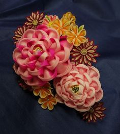 beautiful kanzashi from Japan