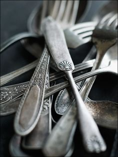old cutlery, i love old cutlery
