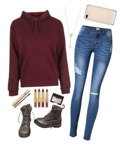 """""""School outfits"""" by jjjunebug2 on Polyvore featuring Topshop, Dr. Martens, EF Collection, tarte, NARS Cosmetics and Dolce&Gabbana"""
