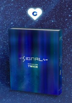 "TWICE 4th Mini Album ""SIGNAL"" C Ver. K-POP CD+Photobook+Photocard+Pre-order Card #Pop"