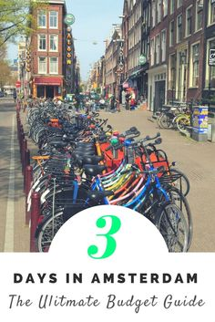The Ultimate guide to spending 3 days in Amsterdam on a Budget