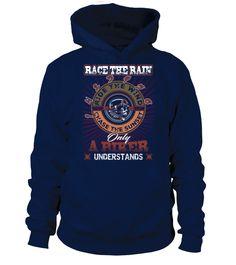 RACE THE RAIN  #gift #idea #shirt #image #funny #motorcycle #biker #beautiful #giftfordad #giftforhusband #mentee
