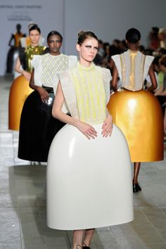 Serena Gili -Central Saint Martins College of Art and Design show 2012