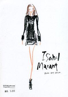 Isabel Marant: FALL 2013 RTW, miyuki ohashi