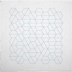 #329 Hexagon fields – A new minimal geometric composition each day