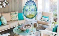A Cheery Family-Friendly Porch - Get the Look | Wayfair- it's in Rehoboth. 2 blocks away! Lol
