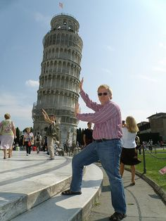 The Leaning Tower: Pisa, Italy  (2008)